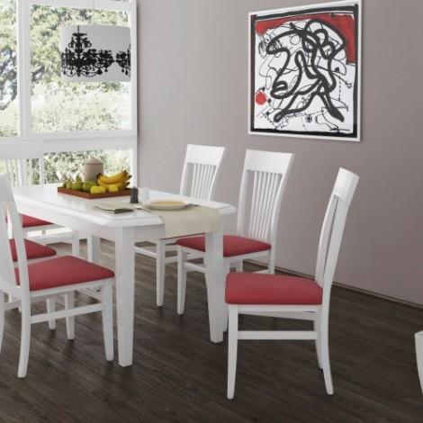 6 db Beluga szék + Dante asztal 160 cm