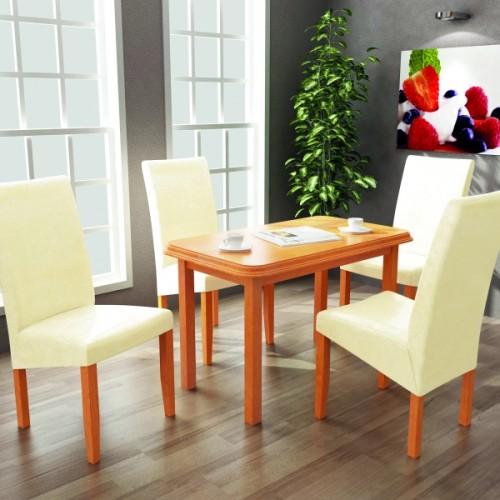 Berta étkező (4 szék + Pianó asztal)
