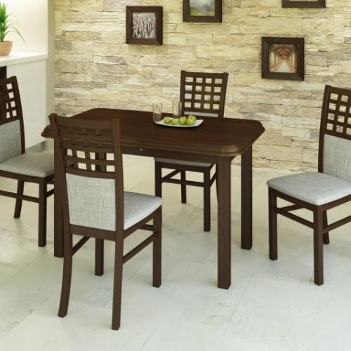 Kármen étkező (4 szék + Pianó asztal)