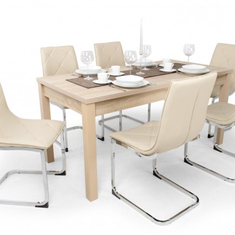 6db Barton szék+1db Berta 160-as asztal