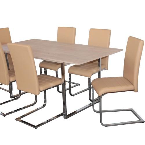 Boston étkező 6 személyes ( 6db Boston szék + 1db Boston asztal)