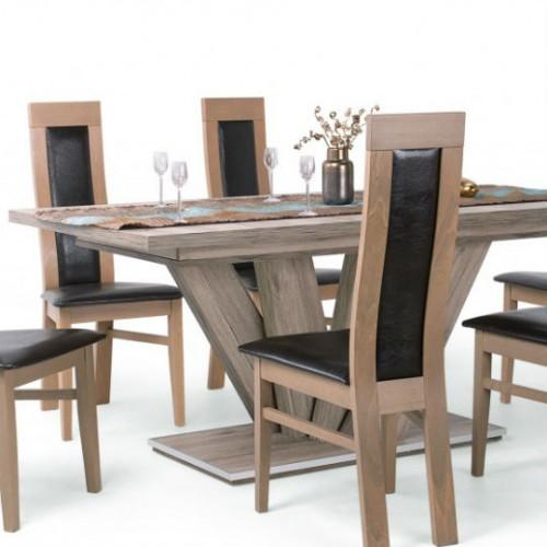Dorka étkezőgarnitúra Dante székekkel