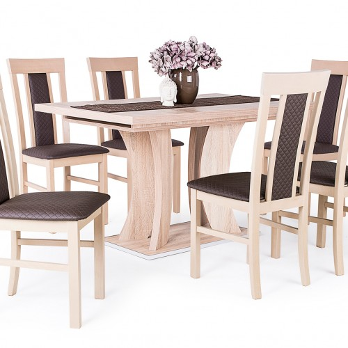 Bella asztal Milánó székkel