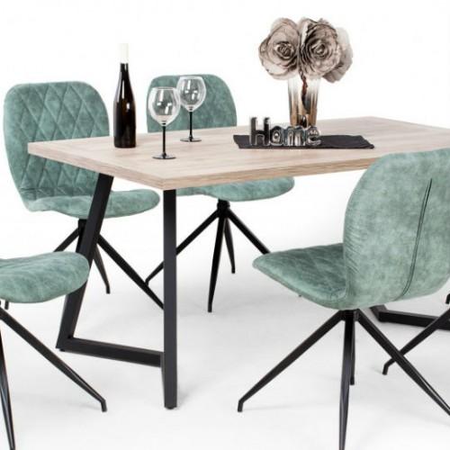 Amazon zöld étkező Caesar asztallal