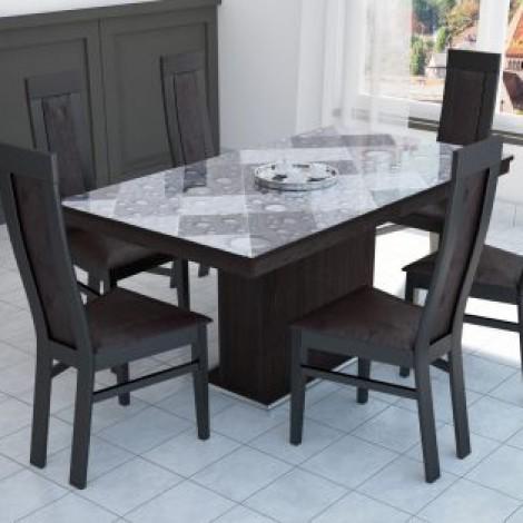 Flóra plusz asztal Dante székkel