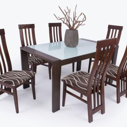 Pieró étkezőgarnitúra új Mona székkel - 6 személyes