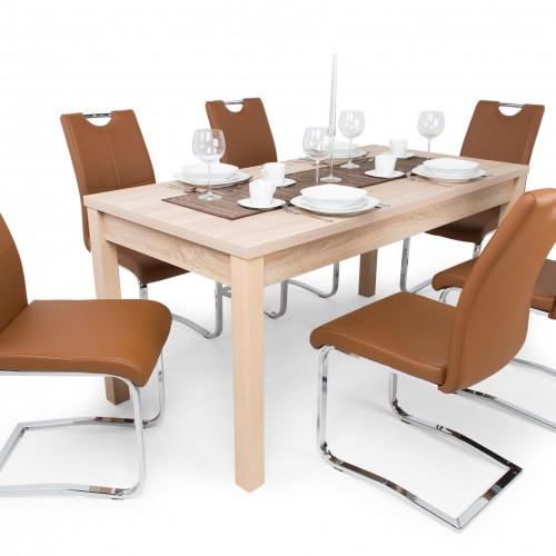 Mona étkezőgarnitúra Berta asztallal - 6 személyes