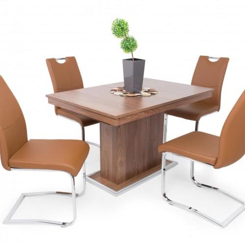 Mona étkező garnitúra Kis Flóra asztallal - 4 személyes