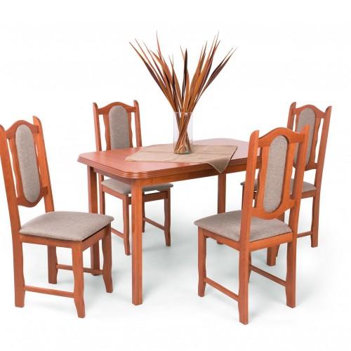 Lina étkezőgarnitúra Piano asztallal - 4 személyes