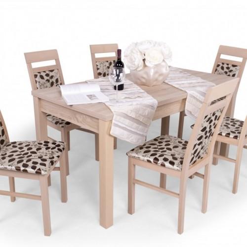 Léna étkezőgarnitúra Berta asztallal - 6 személyes