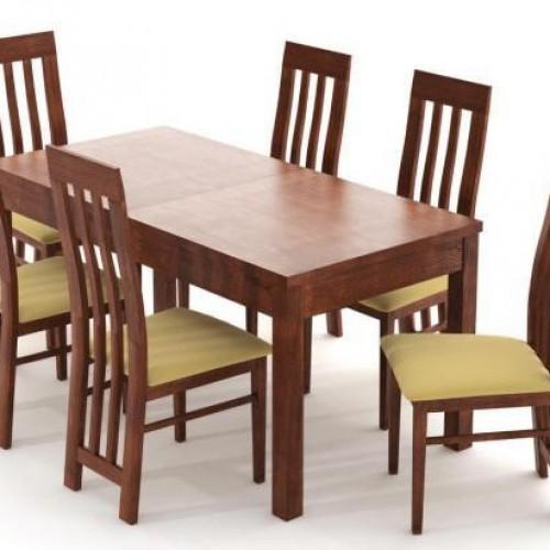 Lara étkezőgarnitúra Leila asztallal - 6 személyes