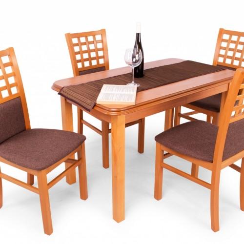 Kármen étkezőgarnitúra Piano asztallal - 4 személyes