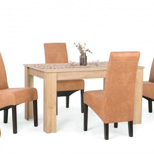 Félix étkezőgarnitúra Dalma székkel - 4 személyes