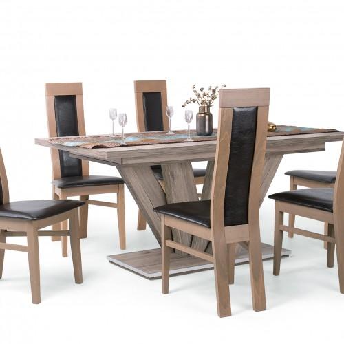 Dante étkezőgarnitúra Dorka asztallal - 6 személyes
