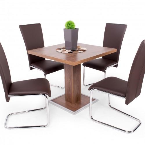 Coctail étkezőgarnitúra Pauló székkel - 4 személyes