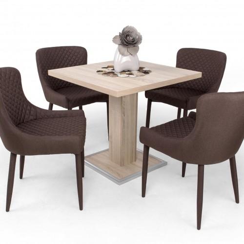 Coctail étkezőgarnitúra Brill székkel - 4 személyes