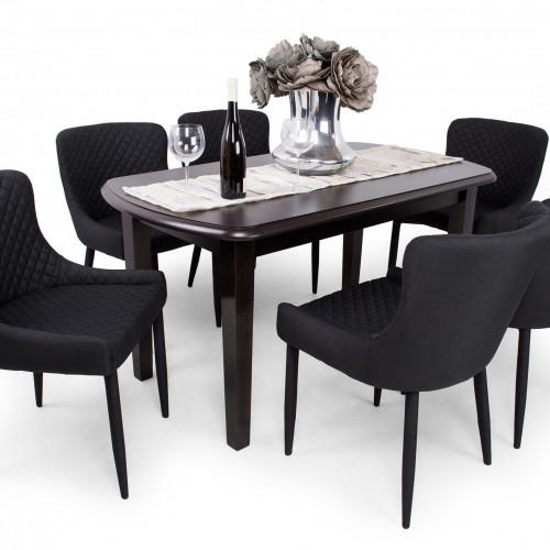 Brill étkezőgarnitúra Dante asztallal - 6 személyes