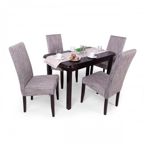 Berta étkezőgarnitúra Piánó asztallal - 4 személyes