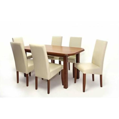 Berta étkezőgarnitúra Piánó asztallal - 6 személyes