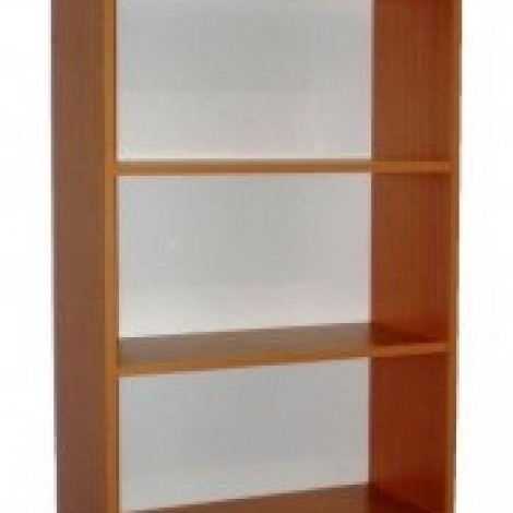 Könyvespolc csak bútorlapból
