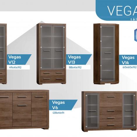 Vegas tálalószekrények
