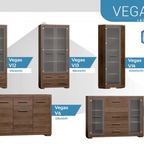 Vegas tálalószekrény
