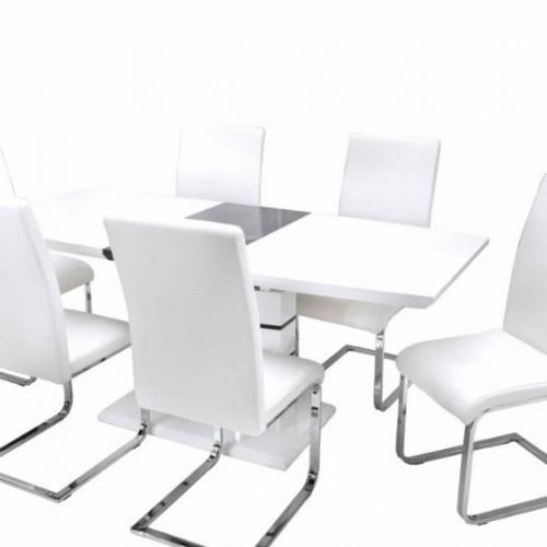 Aurél asztal Boston székekkel