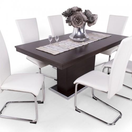 Pauló étkezőgarnitúra Flóra asztallal - 6 személyes