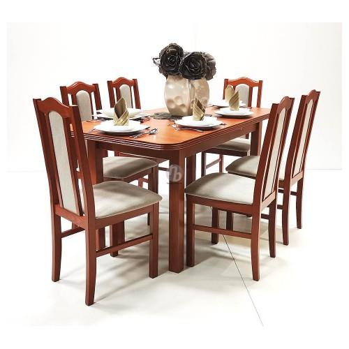 London étkezőgarnitúra Piánó asztallal - 6 személyes