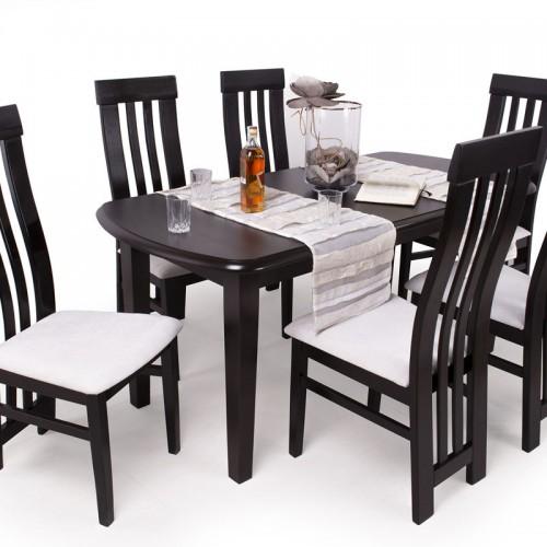 Lara étkezőgarnitúra Dante asztallal- 6 személyes