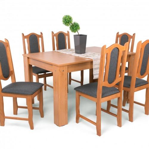 Félix étkezőgarnitúra Lina székkel - 6 személyes