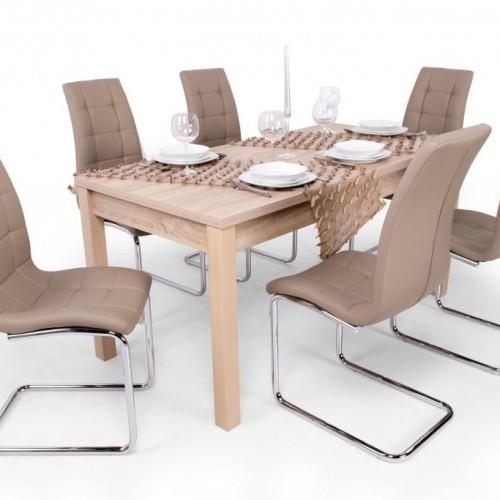 Emma étkezőgarnitúra Berta asztallal - 6 személyes