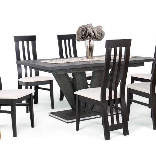Dorka étkezőgarnitúra Lara székkel - 6 személyes