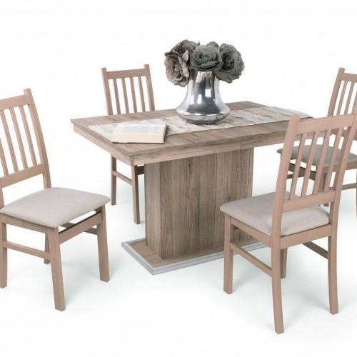 Delta étkező garnitúra Kis Flóra asztallal - 4 személyes