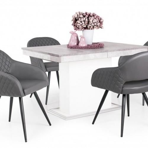 Cristal étkező garnitúra Kis Flóra asztallal - 4 személyes