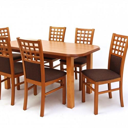Kármen étkező (6 szék + Pianó asztal)