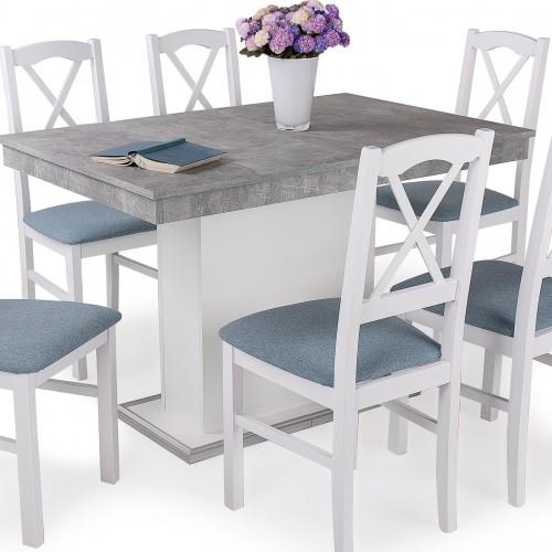 NILO étkezőgarnitúra FLÓRA asztallal