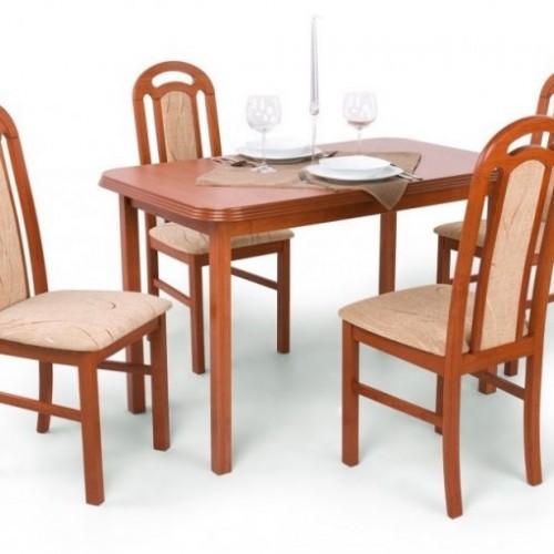 Piano étkezőgarnitúra   4 szék + Piano kis asztal