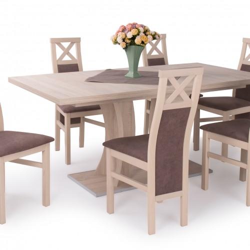 6.db Hermina szék Bella asztallal 170cm