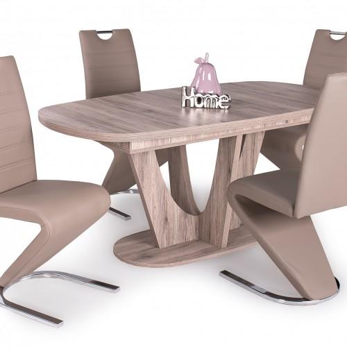 Max asztal 4 db Lord székkel