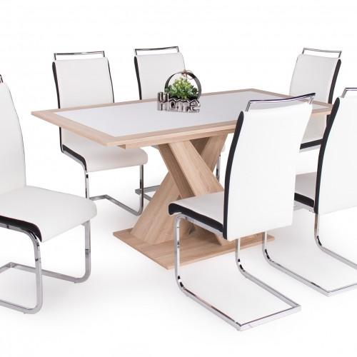 Hanna asztal Száva székkel  6 személyes